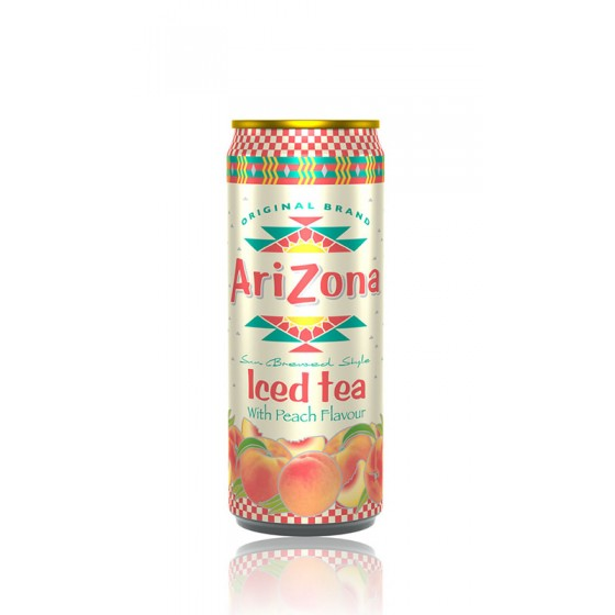 Tè nero alla pesca AriZona in lattina