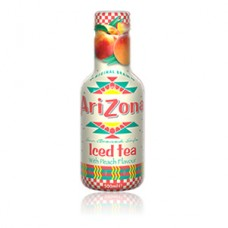 Tè nero alla pesca AriZona in PET