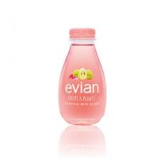 Evian Fruits & Plantes Uva e Rosa
