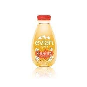 Evian Infuso x Kusmi Tè Bianco Pesca e Violetta
